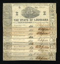 Obsoletes By State:Louisiana, Shreveport, LA- State of Louisiana $1 Varieties Mar. 1, 1864 Very Good or Better.. ... (Total: 10 notes)