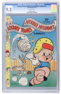 Golden Age (1938-1955):Cartoon Character, Looney Tunes and Merrie Melodies Comics #24 (Dell, 1943) CGC NM- 9.2 Off-white pages....