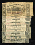 Obsoletes By State:Louisiana, New Orleans, LA- New Orleans, Jackson & Great Northern Rail Road Co. $1; $1.50 (4); $2 (2); $3 Nov. 16, 1861. Canton, MS- ... (Total: 9 notes)