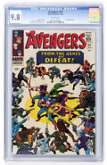 Silver Age (1956-1969):Superhero, The Avengers #24 (Marvel, 1966) CGC NM/MT 9.8 White pages....