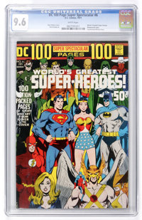 DC 100-Page Super Spectacular #6 World's Greatest Super-Heroes (DC, 1971) CGC NM+ 9.6 White pages