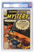 Silver Age (1956-1969):Superhero, Journey Into Mystery #91 (Marvel, 1963) CGC VG/FN 5.0 Cream to off-white pages....