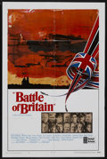 "Movie Posters:War, Battle of Britain (United Artists, 1969). One Sheet (27"" X 41"")Style A. War. Starring Michael Caine, Laurence Olivier, Chr..."