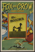 "Movie Posters:Animated, Mr. Moocher (Columbia, 1944). One Sheet (27"" X 41""). Cartoon Short.Starring the voices of Paul Frees and Frank Graham. Dire..."