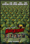 """Movie Posters:Science Fiction, Mars Attacks! (Warner Brothers, 1996). Advance One Sheet (27"""" X 40"""") SS. Science Fiction. Starring Jack Nicholson, Glenn Clo..."""