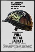 "Movie Posters:War, Full Metal Jacket (Warner Brothers, 1987). One Sheet (27"" X 41"")Advance. War. Starring Matthew Modine, Adam Baldwin, Vincen..."