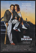 "Movie Posters:Sports, Bull Durham (Orion, 1988). One Sheet (27"" X 41""). Sports. Starring Kevin Costner, Tim Robbins, Susan Sarandon, Robert Wuhl, ..."