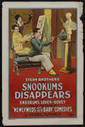 "Movie Posters:Short Subject, Snookums Disappears (Universal, 1927). One Sheet (27"" X 41""). ShortSubject. Starring Syd Saylor, Ethlyne Clair and Sunny Ji..."