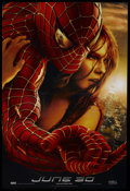 "Movie Posters:Action, Spider-Man 2 (Columbia, 2004). One Sheet (27"" X 41"") Advance. SS.Action. Starring Tobey Maguire, Kirsten Dunst, James Franc..."