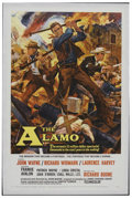 "Movie Posters:Western, The Alamo (United Artists, 1960). One Sheet (27"" X 41""). Western.Starring John Wayne, Richard Widmark, Laurence Harvey, Fra..."