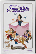 "Movie Posters:Animated, Snow White and the Seven Dwarfs (Buena Vista, R-1987). One Sheet(27"" X 41""). Animated. Starring Adriana Caselotti, Roy Atwe..."