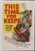 """Movie Posters:Musical, This Time for Keeps (MGM, 1947). One Sheet (27"""" X 41""""). Musical. Starring Ann Rutherford, Robert Sterling, Guy Kibbee, Irene..."""