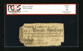 Colonial Notes:North Carolina, North Carolina March 9, 1754 20s PCGS Apparent Good 04. This darklyprinted note from a scarce issue rests in a red label ho...