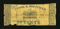 Obsoletes By State:Louisiana, New Orleans, LA- Cook & Brother 50¢ Dec. 19, 1861. ...