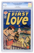 Golden Age (1938-1955):Romance, First Love Illustrated #10 File Copy (Harvey, 1951) CGC NM- 9.2Cream to off-white pages....