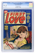 Golden Age (1938-1955):Romance, First Love Illustrated #11 File Copy (Harvey, 1951) CGC NM- 9.2Cream to off-white pages....