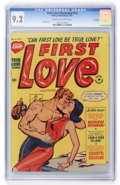 Golden Age (1938-1955):Romance, First Love Illustrated #14 File Copy (Harvey, 1951) CGC NM- 9.2 Cream to off-white pages....