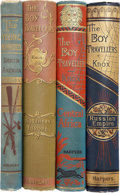 Books:Children's Books, Four Juvenile Adventure Tales by Thomas W. Knox, including: TheYoung Nimrods in North America. [and:] T... (Total: 4Items)