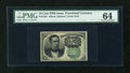 Fractional Currency:Fifth Issue, Fr. 1264 10c Fifth Issue PMG Choice Uncirculated 64....