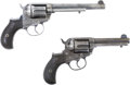 """Military & Patriotic:Indian Wars, Two Consecutively Serial Numbered Colt M1877 Double Action """"Lightning"""" Revolvers, Identified to the Pacific Express Company. ... (Total: 2 Items)"""