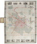 Miscellaneous:Maps, Kosse & Scott Map of the City of Houston and Environs according to the records and the oldest and latest Survey's comp...