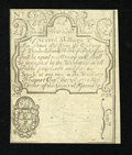 Colonial Notes:Rhode Island, Rhode Island August 22, 1738 7s/6d Cohen Reprint Glued Pair AboutNew....