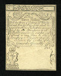 Colonial Notes:Rhode Island, Rhode Island August 22, 1738 3s Cohen Reprint Glued Pair AboutNew....