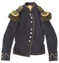 Military & Patriotic:Civil War, Fine Condition, Very Scarce, Civil War French Chasseur Jacket as Worn by Elite Regiments from Pennsylvania, New York, and Mass...