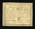 Colonial Notes:Rhode Island, Rhode Island July 2, 1780 $4 Fully Signed About New....