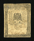 Colonial Notes:Pennsylvania, Pennsylvania December 8, 1775 10s Very Good-Fine....