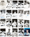 Autographs:Others, Baltimore Orioles Signed Images Lot of 40. . ...