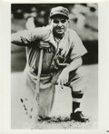 Autographs:Photos, Heinie Manush Signed Photograph. ...
