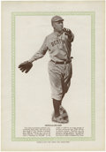 Baseball Collectibles:Others, 1933 Blum's Publishing Tris Speaker (HoF) Premium. ...