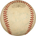 Autographs:Baseballs, Multi-Signed Baseball with Thurman Munson. ...