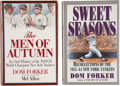 Autographs:Others, New York Yankees Signed Books Lot of 2. ... (Total: 2 items)