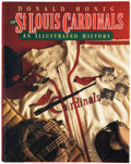 Autographs:Others, St. Louis Cardinals Signed Book. ...