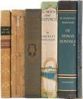 Books:Fiction, W. Somerset Maugham. Six Books, including: Orientations.Fair. [and:] Liza of Lambeth. [and:] The Making...(Total: 6 Items)