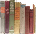 Books:Fiction, W. Somerset Maugham. Ten Books, including three hand-made booksproduced in 1966 by design students at the prestigious Cambe...(Total: 10 Items)