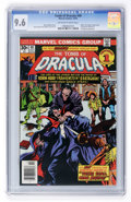 Bronze Age (1970-1979):Horror, Tomb of Dracula #49 (Marvel, 1976) CGC NM+ 9.6 Off-white to whitepages....