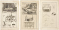Antiques:Posters & Prints, Complete Dictionary of Arts and Sciences. 1764. Collectionof Six Magnificent 18th-Century Steel Engravings With Illus...(Total: 6 Items)