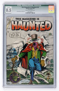 Golden Age (1938-1955):Horror, This Magazine Is Haunted #19 (Charlton, 1954) CGC Qualified VF+ 8.5Cream to off-white pages....
