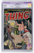 Golden Age (1938-1955):Horror, The Thing! #5 (Charlton, 1952) CGC Apparent FN+ 6.5 Slight (A)Cream to off-white pages....
