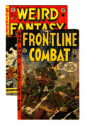 Golden Age (1938-1955):Science Fiction, Weird Fantasy #22/Frontline Combat #15 Group (EC, 1953-54)....(Total: 2 Comic Books)