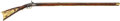 Military & Patriotic:Pre-Civil War, Unsigned, Relief-Carved, Full Stock Percussion Pennsylvania Rifle from the Franklin County Pennsylvania/ Northern Maryland Reg...