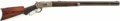 Military & Patriotic:Indian Wars, Fine Deluxe M1886 Winchester Rifle, #68481, Manufactured 1892....