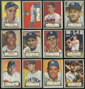 Baseball Cards:Sets, 1952 Topps Baseball Low- and Middle-Series Near Run (281/310). ...