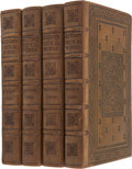 Books:Fiction, [Merrymount Press] John Milton. The Poetical Works of JohnMilton. With a Life of the Author and Illustrations. ...(Total: 4 Items)