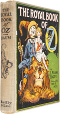 Books:First Editions, L. Frank Baum. The Royal Book of Oz. Chicago: The Reilly& Lee Co., 1921. First edition, first state. Octavo. 31...