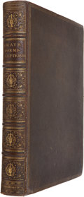 Books:First Editions, Thomas Gray. Poems and Letters. London: Chiswick Press,1863. First Chiswick Press edition. Quarto. xvi, 415, [1...