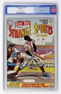 Silver Age (1956-1969):Horror, The Brave and the Bold #45 Strange Sports Stories (DC, 1963) CGCVG+ 4.5 Off-white to white pages....